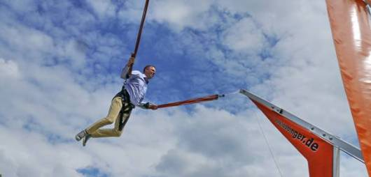 Mario Czaja in der Luft :).