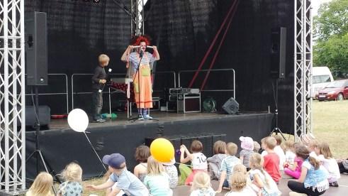 Auftritt Clown Natscha