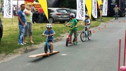Fahrradparcour der Jugendverkehrschule Marzahn-Hellersdorf