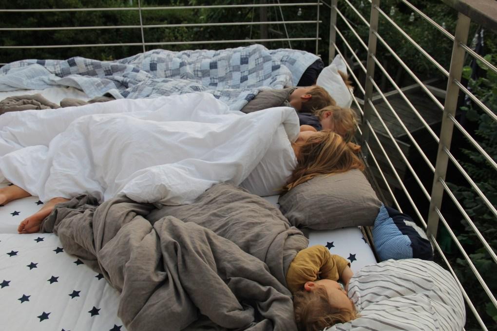 draußen schlafen