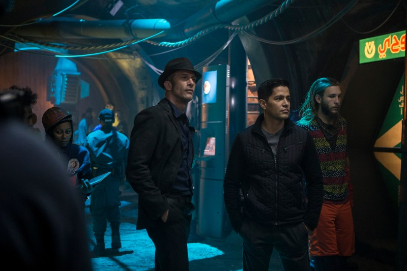 "THE EXPANSE -- ""Remember the Cant"" Episode 103 -- Pictured: (l-r) -- (Photo by: Rafy/Syfy)"