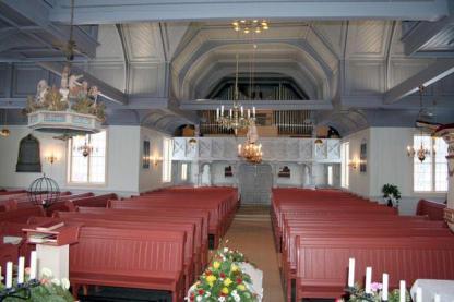 Det indre af kirken