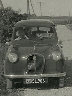 Niels Kristian Christensens varebil