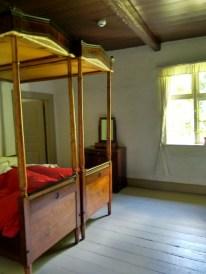 Præsteparrets soveværelse