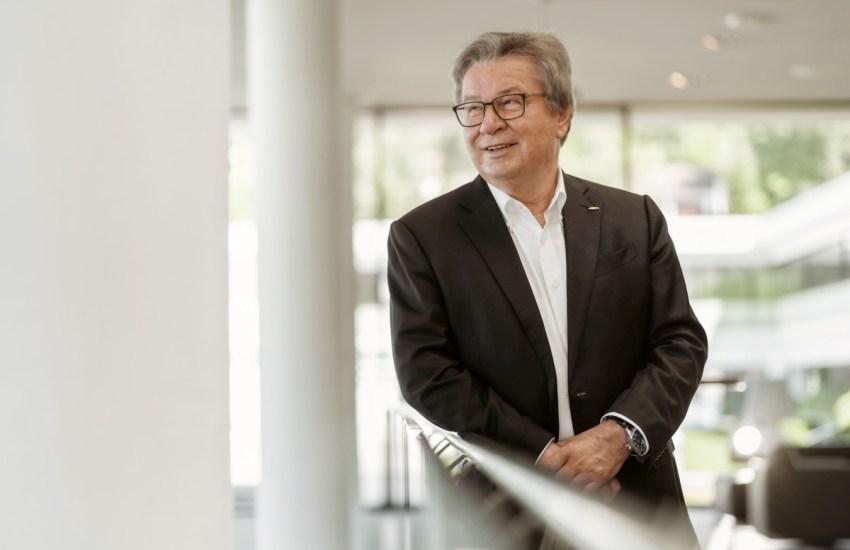 Prof. Klaus Fischer 04.07.19 in Waldachtal. Foto: Jakob Studnar