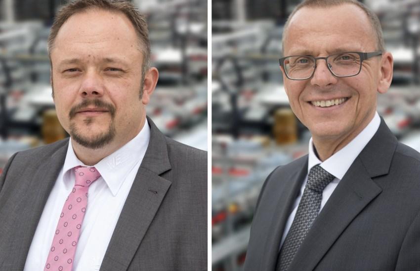 Dirk Knorr und Josef Wörner