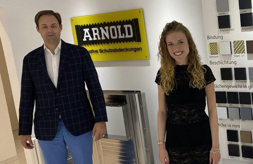 Dr. Marco Henry Neumueller und Isabelle Mang
