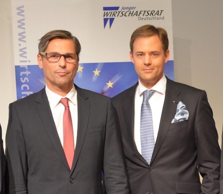 Klaus Zellmer mit Dr. Marco Henry Neumueller