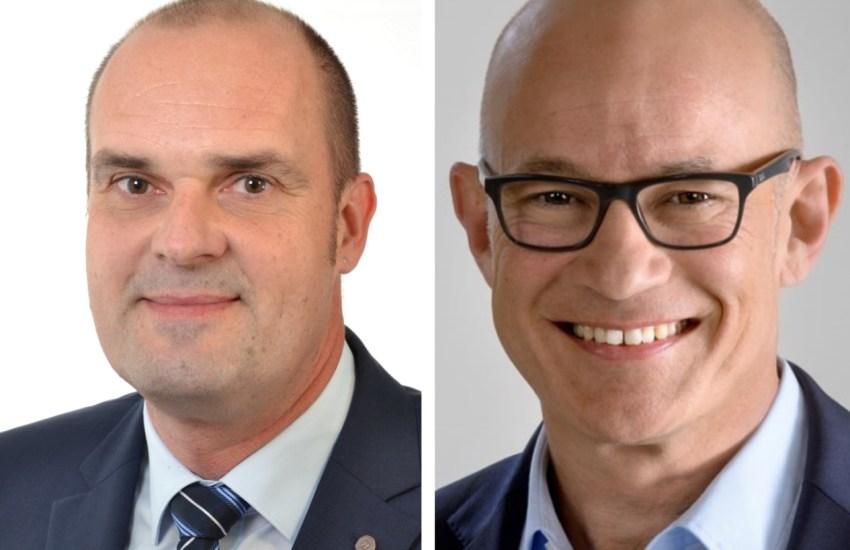 Die Weber Ultrasonics AG beruft Wolfgang Mangold in den Vorstand, Günter Mauderer wurde technischer Leiter