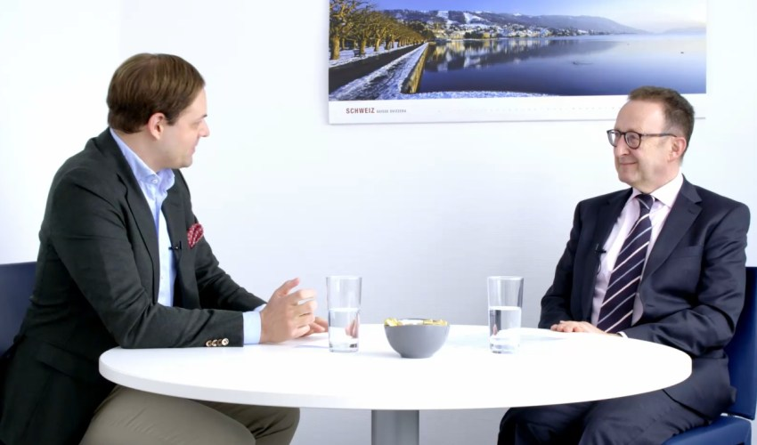 Dr. Marco Henry Neumueller mit Ralph Jacoby