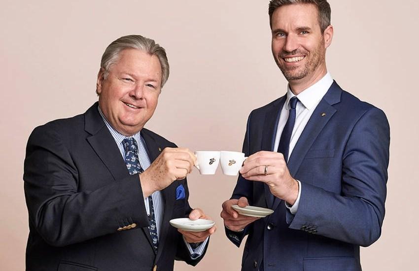 Harald J. Mayer und Erik Hofstädter (Tchibo)