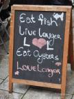 Familienwalz - Buntes Dublin, Reifenpannen & Couchsurfen im Hippieparadies - Auf dem Organic Lokal Foodmarket
