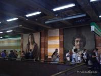 Kunst in der Metro von Santiago de Chile