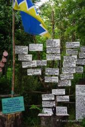 Im ökologisch-mythilogischen Park Chiloé