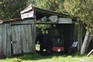"""""""El Tren"""" in Los Senderos de Chepu, Chiloé"""