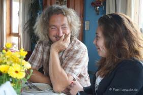 Vater und Tochter, Martin und Kati Neumann
