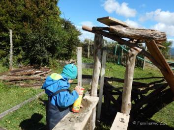 In der Pension Los Senderos de Chepu, Chiloé