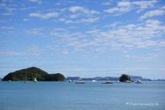Bucht von Waitangi auf der Nordinsel