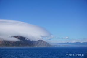 Überfahrt zur Südinsel/ Marlborough-Sound