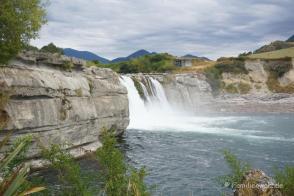 Maruia Falls am Highway SH 65 auf der Südinsel