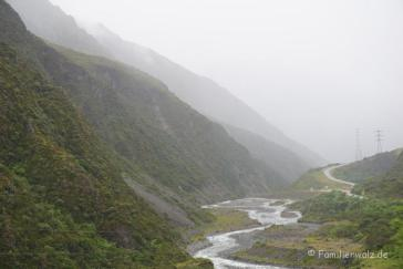 Am Arthur's Pass National Park/ Südinsel