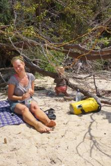 Am Onetahuti Beach