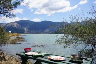 Picknick am Pelarus River nahe Havelock
