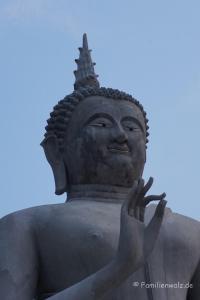 Elefanten, Strand und wilde Affen - Khao Takiap, Monkey Hill Temple