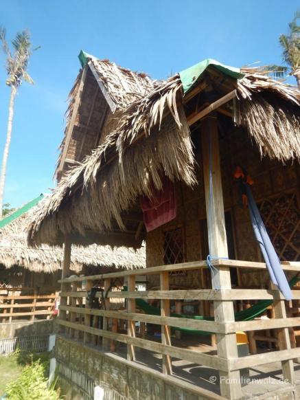 Unsere Hütte auf Malapascua Island