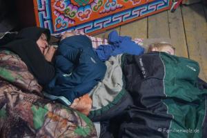 Was ist eigentlich Zuhause? Sieben elementare Zutaten - In Begzsurens Jurte in Ulan-Bator, Mongolei