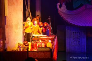Im Thang Long Water Puppet Theater in Hanoi