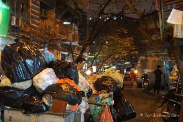 Hanois Müllabfuhr