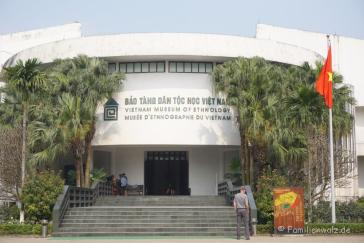 Das Vietnam Museum of Ethnology in Hanoi