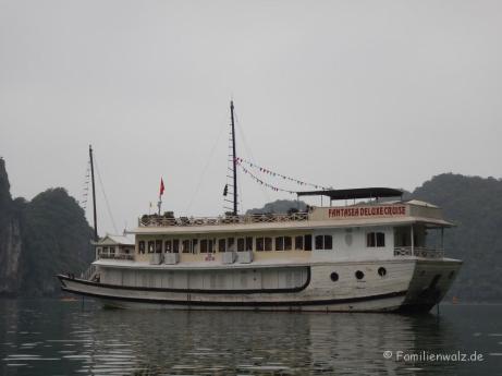 "Unser Ausflugsboot ""Fantasea Deluxe Cruise"""