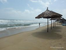 Der Strand von An Bang Beach bei Hoi An