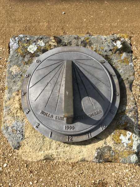 Cadran solaire du château de Delley.