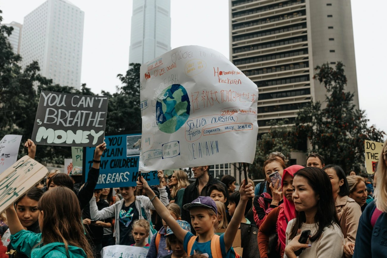 school strike for climate change in hong kong