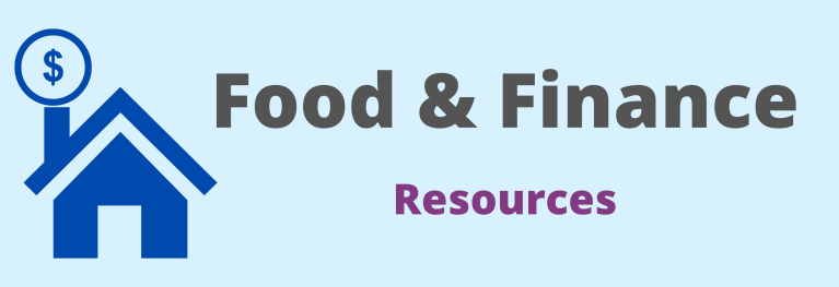 Food and Finance resources graphic