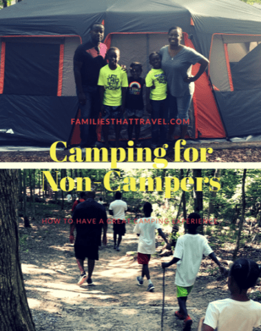 Camping for non-campers