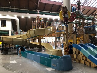 Great Wolf Lodge slides