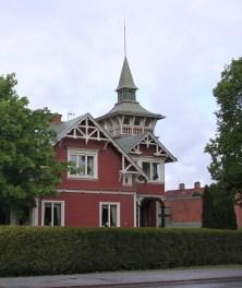 Villa Haganäs i dag. Foto: Esben Alfort 2015.