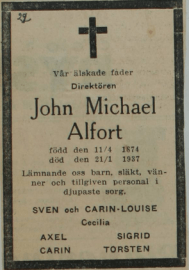 Svenska Dagbladet 22/1 1937.