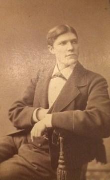 Axel Carlsson. Fotot vänligen inskickat av Maragreta Sigbladh.