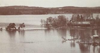 Utsikt över Liljeholmen mot väster.