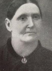 Vilhelmina Carlsson, f. Ahlfort. Källa: Från Sommabygd till Vätterstrand VI.