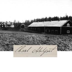 Sist att bära namnet Ahlfort hemma i Östergötland