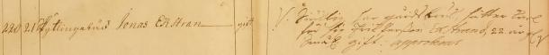 Jonas Ekstrand 1741