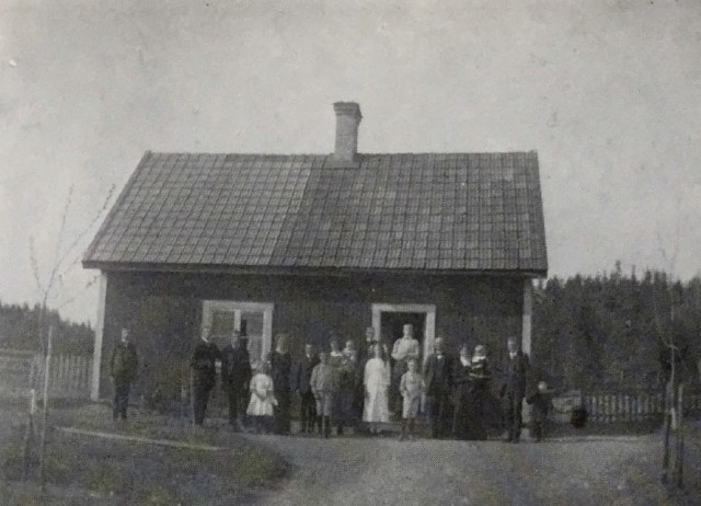Torpet Udden i senare tid. Källa: Från Sommabygd till Vätterstrand VI.