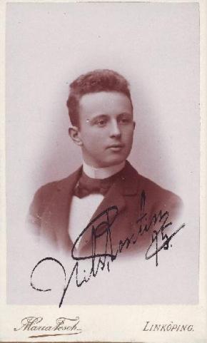 Nils Pontin 1895.
