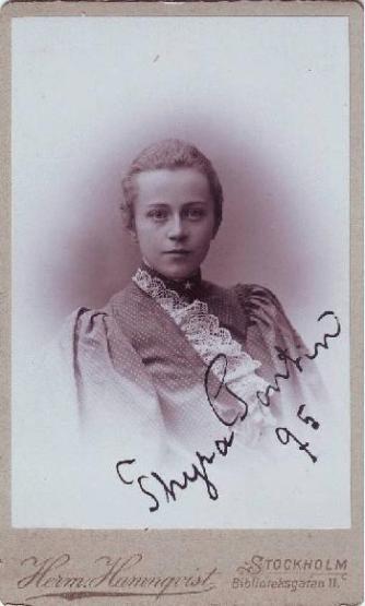 Thyra Magda Maria Pontin 1895.